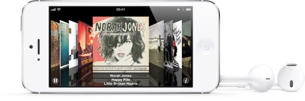 iPhone 5 weiß & silber