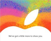 iPad Mini Keynote Einladung