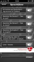VisitDenmark App: Sprachführer