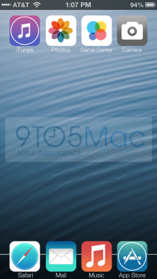 9to5Mac iOS 7 Redesign