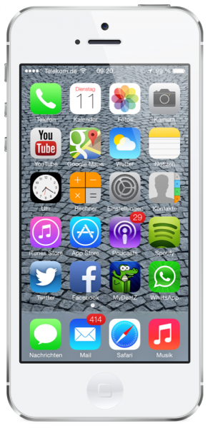 iOS 7 Homescreen / App Icons