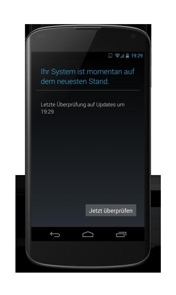 Nexus 4: Kein Update vorhanden
