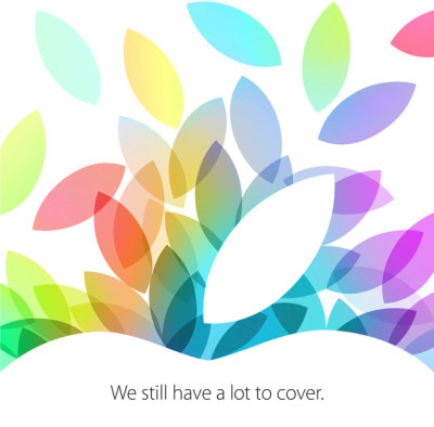 "iPad ""a lot to cover"" Keynote Einladung"