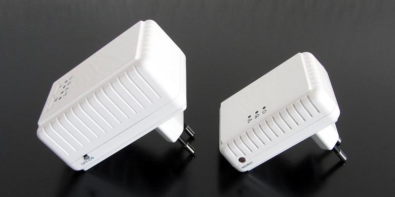 Maginon Powerline Adapter-Kit Seitenansicht