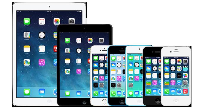 iOS 7 Jailbreak kompatible Geräte