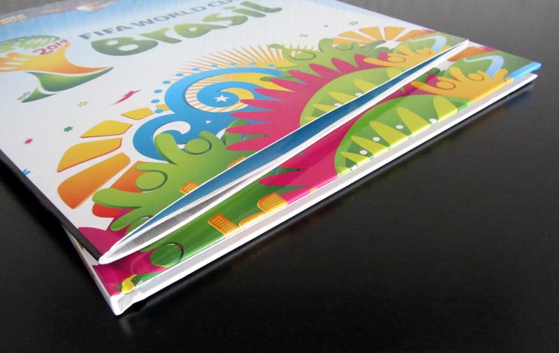 Panini WM 2014 Hardcover Album Vergleich