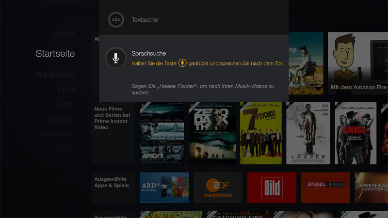 Amazon Fire TV Screenshot