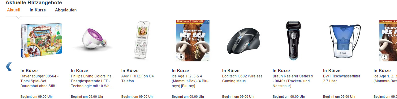 Amazon Cyber Monday Woche 2014
