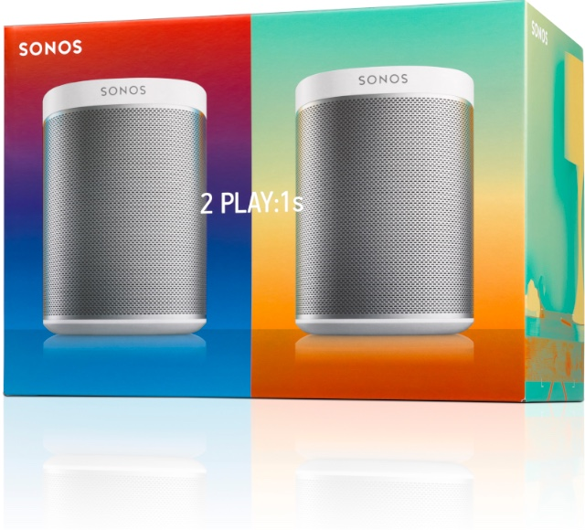 Sonos Starterkit: 2 Play:1s